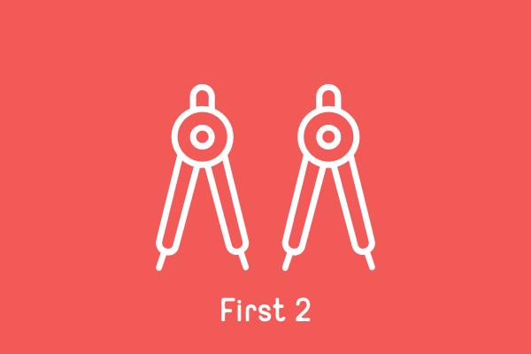 First 2
