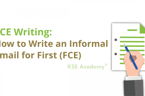 how to write an informal email for fce writing