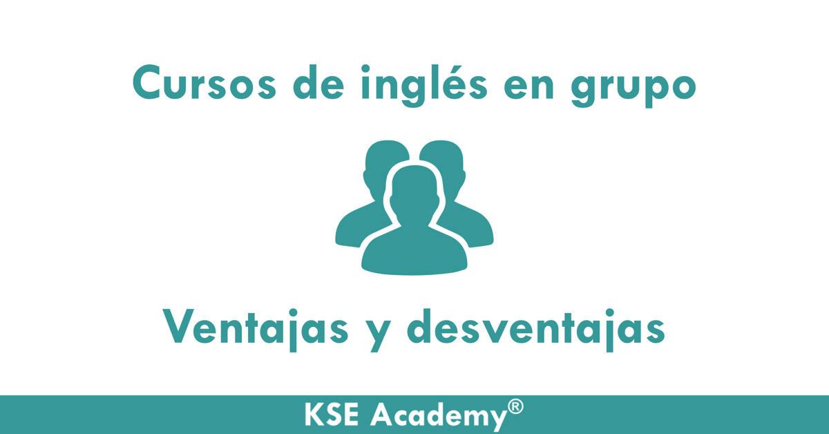 cursos de inglés en grupo
